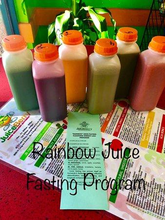 Juice fasting program Rainbow