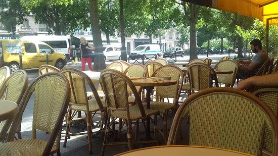 Bellle Terrasse Picture Of Le Cosy Paris Tripadvisor