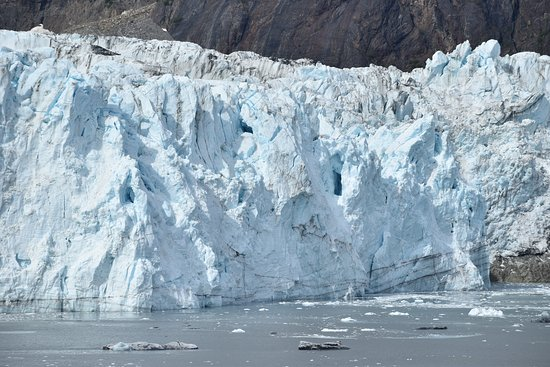 Up close to Margerie Glacier in Glacier Bay