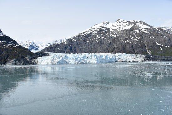 Leaving Margerie Glacier