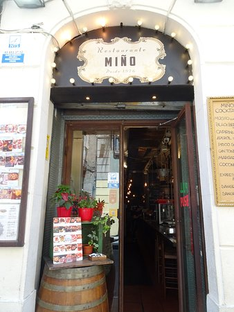 Miño: It is easy to pass up, so keep looking for this door