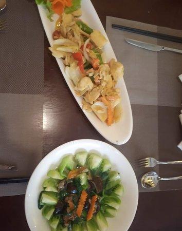 Orchid Restaurant: salad