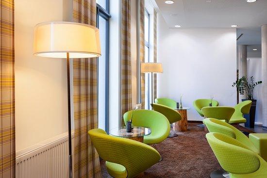 Holiday Inn Express Augsburg: Bar/Lounge