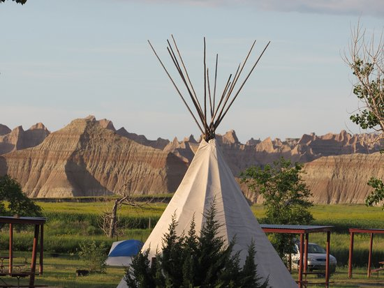 Badlands Interior Motel and Campground: View from our room