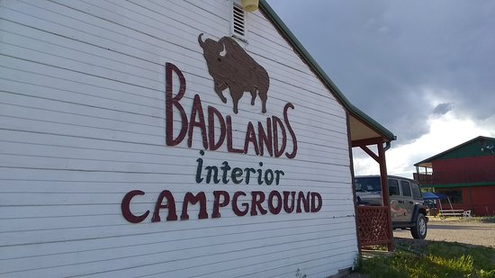 Badlands Interior Motel and Campground: The motel