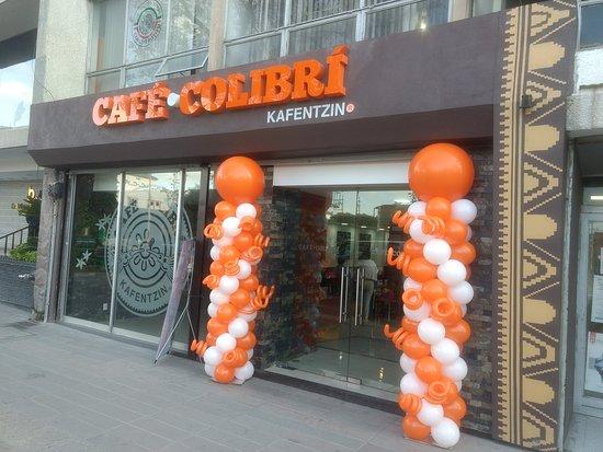 Café Colibrí: CAFE COLIBRI