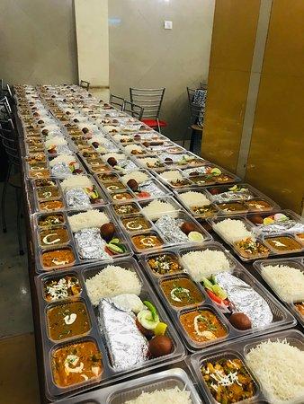 Thali Packing bulk orders