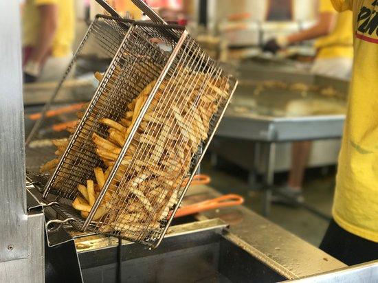 Fresh hot Fresh French Fries!