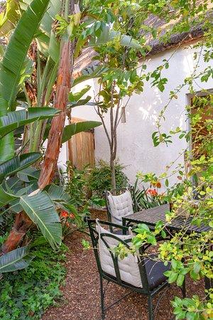 The Barn On 62: Beautiful hidden garden seating