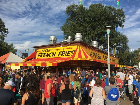 Falcon Heights, MN: Fresh French Fries location by the Midway at the Minnesota State Fair!
