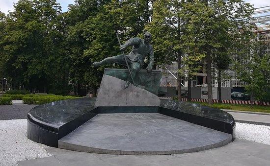 V.B. Kharlamov Monument