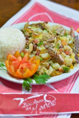 Restaurante Bacalhau De Martelo: Bacalhau de Salada