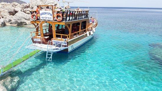 Kumluca, Turkey: suluada tekne turu