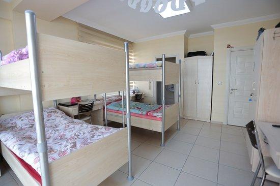 Yalova Province, Turkey: 4kişilik oda
