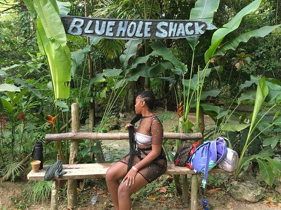 Očo Rios, Jamajka: Shy girl!!!