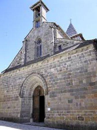 Mur-de-Barrez, França: façade