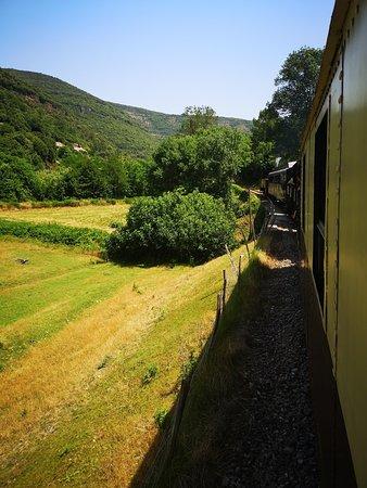 C'est déjà le retour vers Anduze par une très belle journée d'été