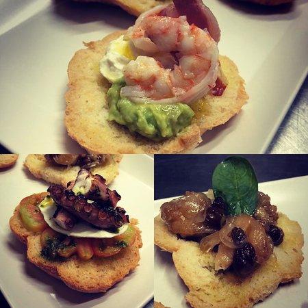 Novità💣 in Menù 📋🧐!! Frise homemade by @chefmassi con Polipo 🐙alla Griglia, Sgombro 🐟 in Saor e Gamberi al Ghiaccio ❄️!! 😋 #simbiosi #simbiosivasto #vasto #viacavour13 #novita #frise #homemade #polipo #sgombroinsaor #gamberialghiaccio #nonsolopanini #nonsolopanini #fish #estate2019 #paninigourmet
