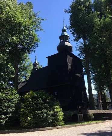 Drewniany kościółek Św. Barbary