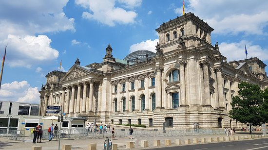 Driveczech - Your Personal Driver: The Reichstag is a historic edifice in Berlin, Germany, constructed to house the Imperial Diet (German: Reichstag) of the German Empire. It was opened in 1894 and housed the Diet until 1933, when it was severely damaged after being set on fire.