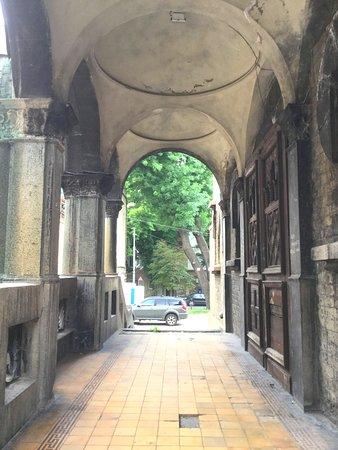 Fine colonnade
