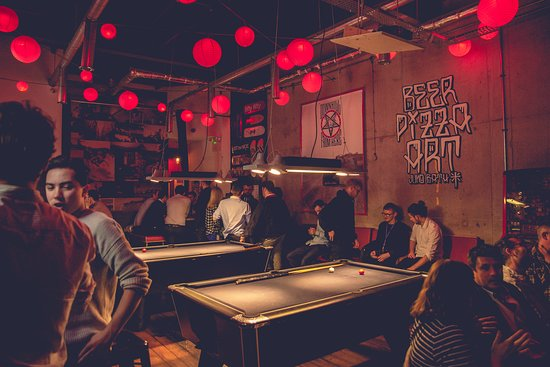 Two pool tables open from 11am till 11pm everyday.