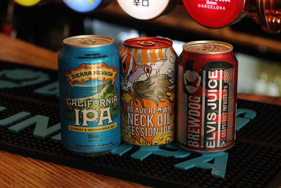 Some of our can range.