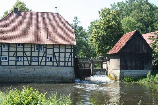 Rheda-Wiedenbruck, Германия: Rheda Schloss Waterwheel