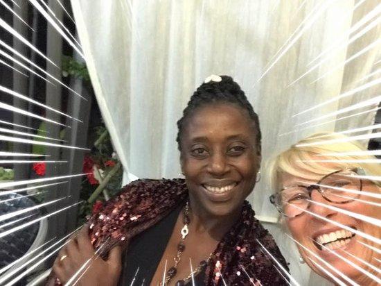 Cassine, إيطاليا: bellissima foto  con una cliente conosciuta al ristorante passaggeri
