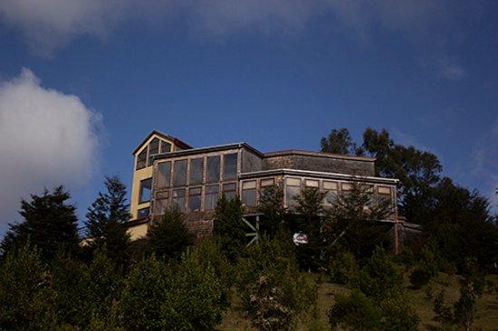 Hotel Parque Quilquico: Vista Hotel