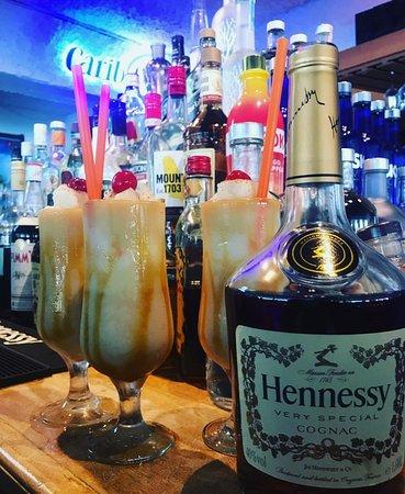 Sails Restaurant & Bar: Our Famous Henny Colada.