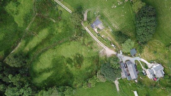 Llangynog, UK: Graig Las from above