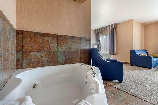 Comfort Inn & Suites: Spacious guest room