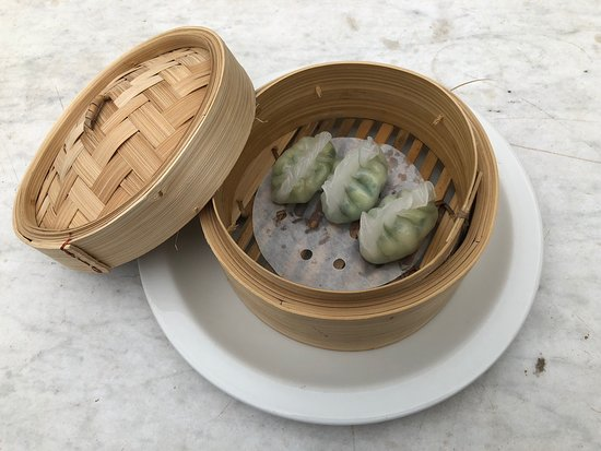 Shelter Shed: Prawn and Chive Dumplings, one of the most popular dumplings ordered on our weekly Friday dumpling night.