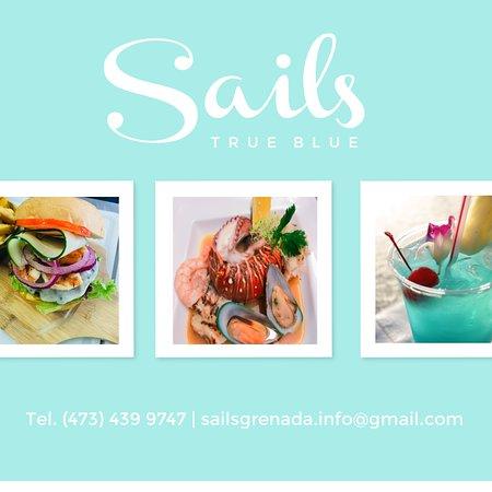 Sails Restaurant & Bar: Fresh local Seafood....Island Cocktails & Ocean Views.