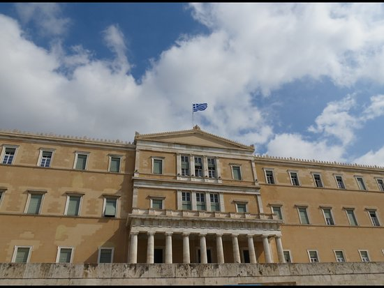 Athens, Greece: Parlement grec, Place Syntagma