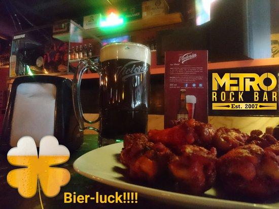 Metro Rock Bar: Draft beer service!!!