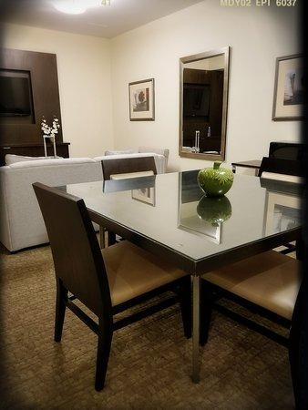 2-Bedroom Suite: Living Room