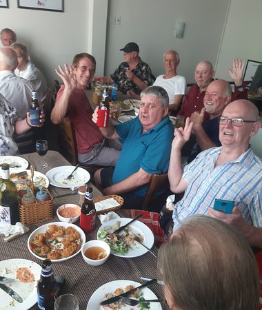 AUSSIE DAY 🙂 Today we had the pleasure of welcoming and serving a larger group of resident Australians - very nice guys, thank you very much for your visit 👏👍