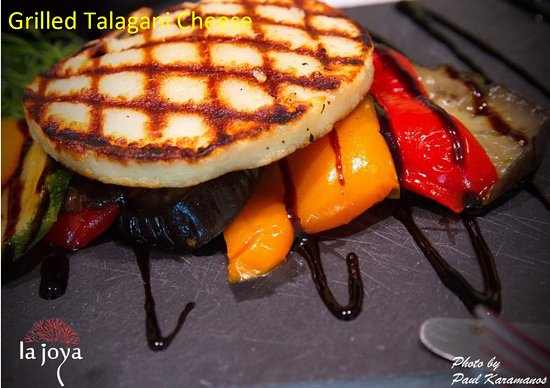 La Joya: Grilled vegetables with aged balsamic and grilled talagani cheese