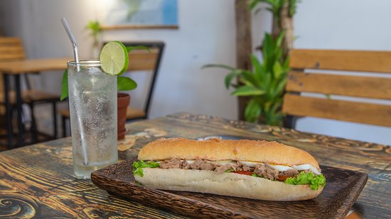 Tuna Bocata and Soda water