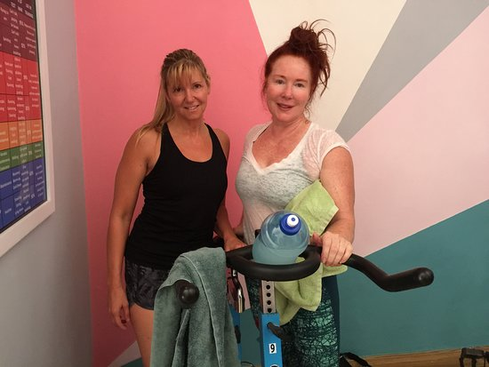 Cabarete Spinning Studio: trying to stay standing after my ride...lol