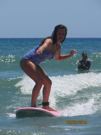 Caught numerous waves!