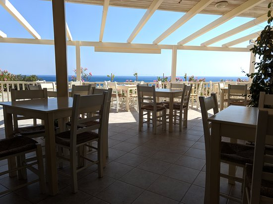 Sea view from Argilos taverna