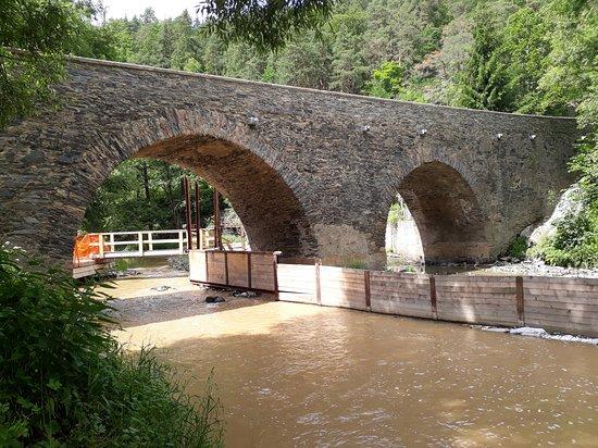 Rabatejn nad Strelou, Češka Republika: Most v Rabštejně