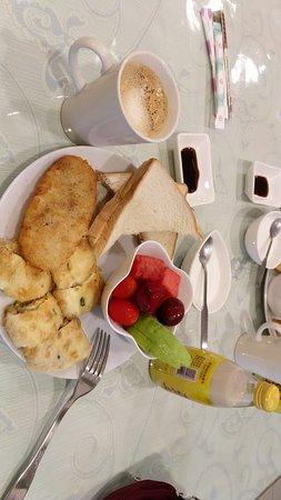 Simple but good breakfast