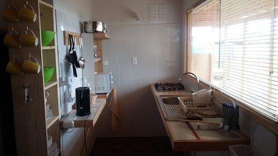 Coquimbo Region, Chile: kitchenette de cabaña en los choros