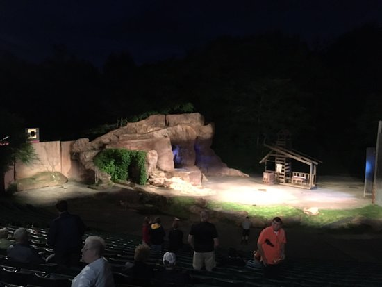 Paul Green's Trumpet in the Land: Beautiful amphitheater!