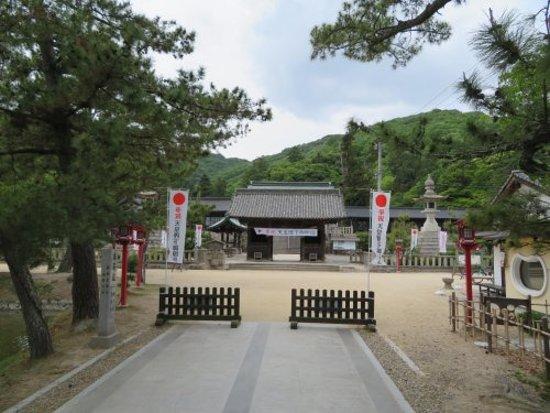 Zuishinmon gate built in 1697.