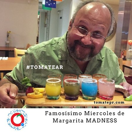 Tomate Cocina Mexicana & Margarita Bar: Margarita MADNESS Every wednesday some Margaritas at $0.95 at 3:00 pm then add $1.00 every hour (you need to order food from our regular menu to get access to this Happy Hour)